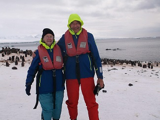 Virtual Trip to Antarctica While Snacking & Staying Warm