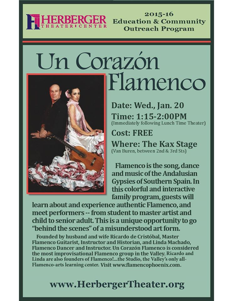 Humanities Project Lunchtime Outing: Un Corazon Flamenco - Free!