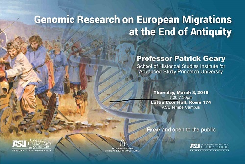 Genomic Research on European Migrations at the End of Antiquitiy