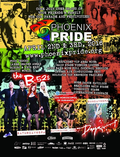 Tabling at Phoenix Pride Festival Saturday & Sunday