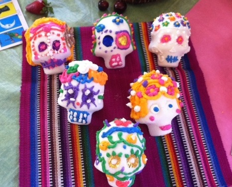 Decorate Sugar Skulls with Jennifer White